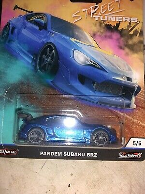 2019 Hot Wheels Car Culture PANDEM SUBARU BRZ - Blue - Street Tuners 1/64,#5/5
