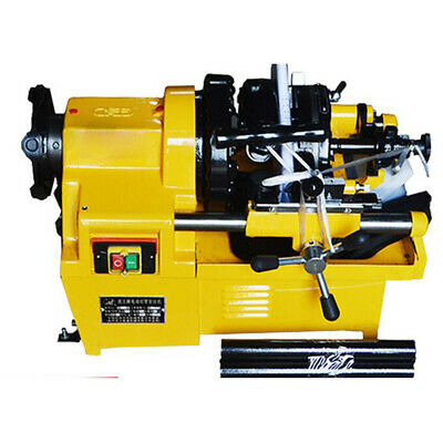 "Electric PipeThreader Machine (1/2"" - 2"") Threading Cutter automatical machinery"