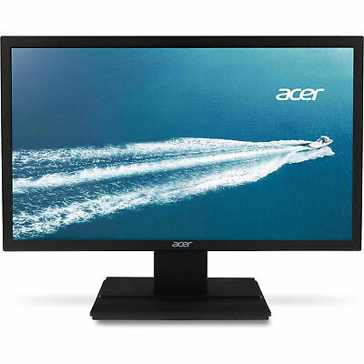 "Acer 24"" Widescreen LCD Monitor Display Full HD 1920 X 1080 5 ms TN Film