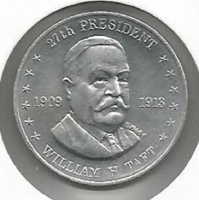Shell's Coin Game Token Mr. President William Taft 27th 1968