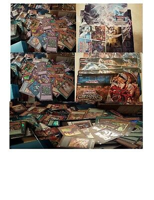 250Yugioh Cards Thunder Dragons, infinite impermanence, Witches strike, GameMat