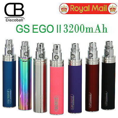 Authentic GS eGo 2 3200 mah Battery GreenSound GS 2 E-Cig Rechargeable Battery