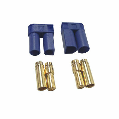 1 Pair EC5 power Connector Gold Bullet Banana Plug Male & Female for RC battery