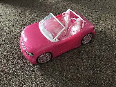 Pink Barbie Doll Convertible Sports Car