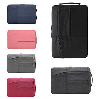 """Laptop Sleeve Soft Case Pouch Bag For 11"""" 13"""" 14"""" 15.6"""" Macbook Air Pro Notebook"""