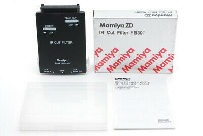 【 TOP MINT in BOX 】 Mamiya ZD IR Cut Filter YB301 for Mamiya zd from JAPAN #160