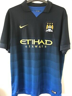 manchester city Away Shirt Size Extra Large Excellent Condition