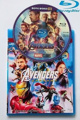 Marvel Avengers Endgame End Game 2019 New Blu Blu-ray Ray Region Free Shipping