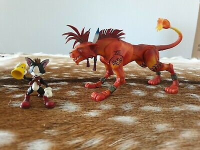 Final fantasy 7 Play Arts Series 1. Red 13 XIII & Cait Sith Figurine