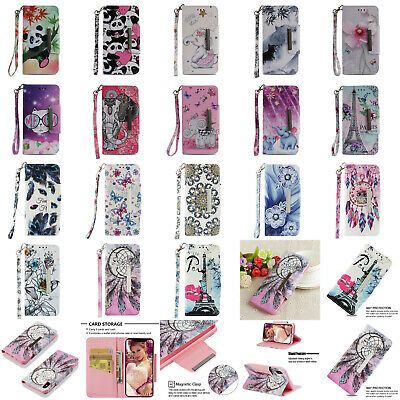 Magnetic Wallet Flip Leather Stand Case Cover For Samsung Galaxy S10 S10E Plus