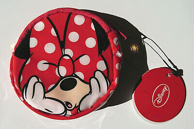 New Coin Purse Minnie Mouse Zip Wallet Disney Character Kids Gift Party  pcv