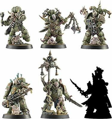 Warhammer 40,000 Space Marine Heroes Series 3 Plastic Model Set of 6