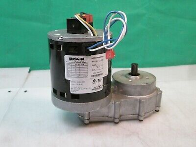 Bison 014-500-0138 1/6 HP 12 RPM 138.1 Ratio AC Parallel Gear Motor NEW