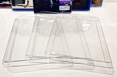 100 Box Protectors For Blu-Ray / HD DVD Custom Made Clear Cases / Sleeves Bluray