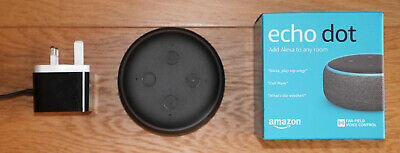 Amazon Echo Dot (3rd Generation) Charcoal (New other)