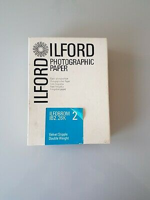 "Approx 100 Sheets Ilford ILFOBROM 2 IB2.26K. Photographic Paper 4 3/4"" x 6 1/2"""