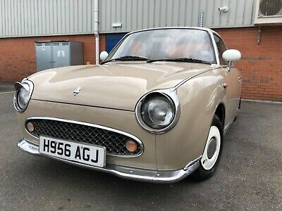 Nissan Figaro 1.0 Turbo Convertible Topaz Mist 83K Low Mileage Only Look !!!!!