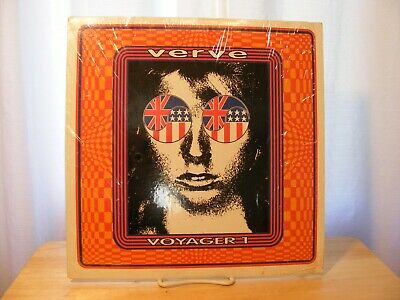 Verve - Voyager 1 (Jolly Roger 2) Limited Edition LP Blue Vinyl VG