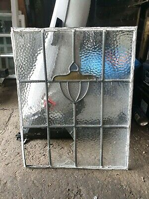 Reclaimed Stained Glass Windows Crittall Frame