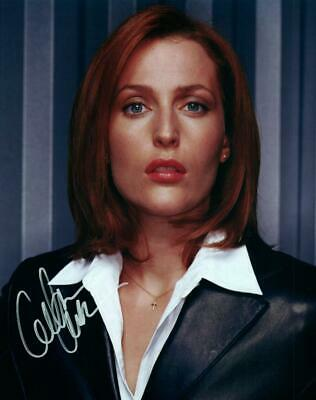 Gillian Anderson signed 8x10 picture Photo autographed pic + COA
