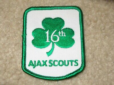 Boy Scout Ajax Irish Canada District 2019 World Jamboree Traded Patch Badge