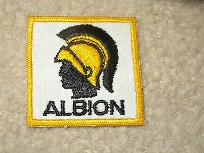 Boy Scout Albion Canada Michigan District 2019 World Jamboree Traded Patch Badge