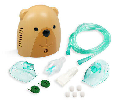 Compact Portable Nebulizer Machine with Travel Bag, Adult and Child Mask Kits