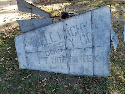 Antique Samson Windmill  Large Tail Ft Worth Texas model M Well MACHY SUPPLY CO