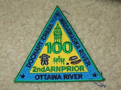 Boy Scout Arnprior Ottawa Canada District 2019 World Jamboree Trade Patch Badge