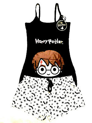 Harry Potter Official Figure Ladies Vest Top & Shorts Pyjama Set Pj's Primark