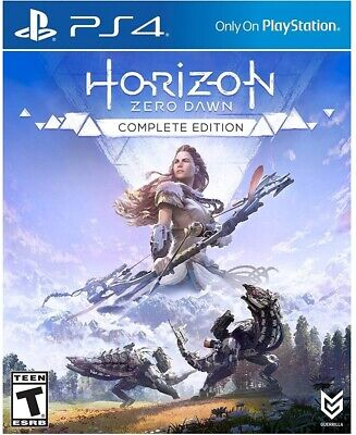 Playstation 4 Ps4 Video Game Horizon Zero Dawn Complete Edition New And Sealed