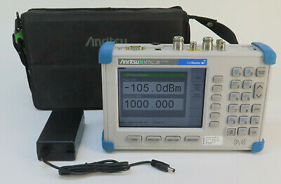 Anritsu CellMaster MT8212B Base Station Analyzer GPS w/ Options