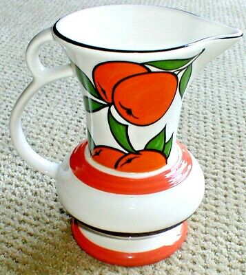 Vintage WADE HEATH Pottery Gallery Collection Orange Grove Pitcher Made England