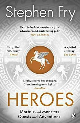 Heroes: The myths of the Ancient Greek heroes retold, Paperback,  by Stephen Fr