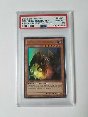 REDU-EN081 - Prophecy Destroyer - 2012 Yu-Gi-Oh! Card 1st Edition Holo PSA 10