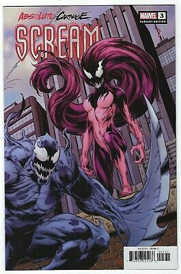 Absolute Carnage Scream # 3 of 3 Connecting Cover NM Marvel