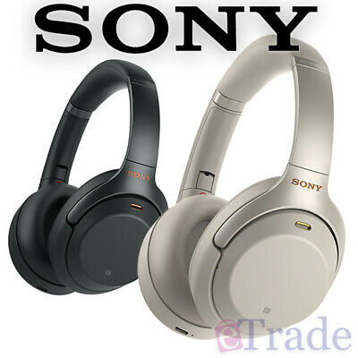 Sony WH-1000XM3 Bluetooth Wireless Noise Cancelling Headphones - Black | Silver