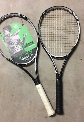 Lot of (2) Prince EXO3 Warrior 100 Tennis Racquets - No Reserve!!