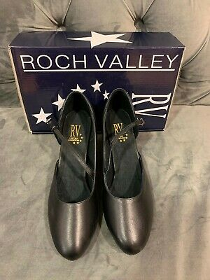 Roch Valley RV801 Ballroom Dance Shoe UK7.5