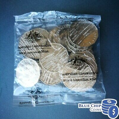 2019 UNC 50c International Year of Indigenous Languages Coins in Mint Bag