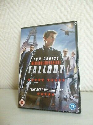 DVD new - Mission Impossible Fallout - with Tom Cruise - 2018