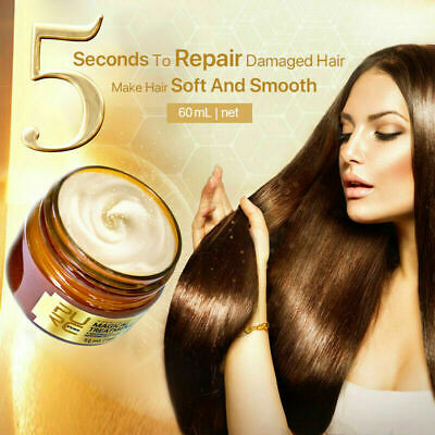 KeraShine Detoxifying Hair Mask Supple shiny and silky to repair hair dry AU