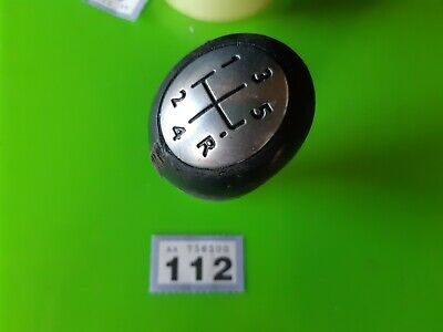 Renault Clio Mk3 (2009 - 13) Facelift, 5 Speed Leather Gearstick Knob
