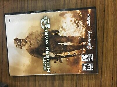 Call of Duty Modern Warfare 2 (2009) PC DVD-ROM ActiVision 2-disc game TESTED