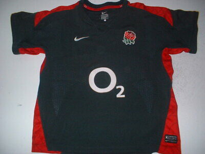 England Rugby Union Boys L 12-13ys Shirt Jersey Nike World Cup Change Girls