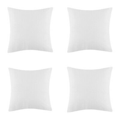 Pack of 4 Extra Deep Filed 14x14 Inches Cushion Pads Inserts Fillers Scatters
