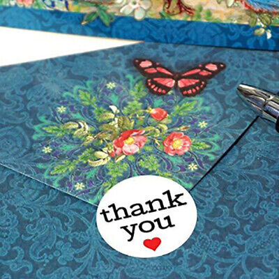 500 Labels/roll thank you Stickers seal labels stickers stationery sticker~GN
