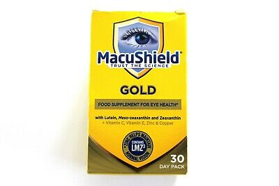 Macushield Gold Food Supplement For Eye Health - 30 Day Pack