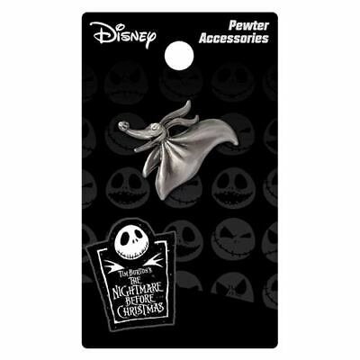 The Nightmare Before Christmas Zero Pewter Lapel Pin!