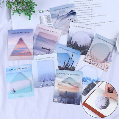 Creative notebook note paper stickers office school supplies notes Memo P~GN